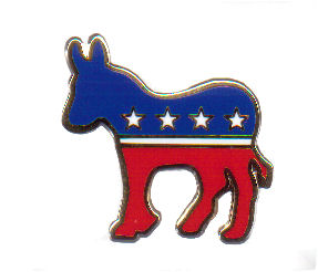 Democrat Pins